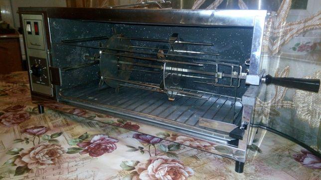 Электрогриль шкаф жарочный шашлычница шаурма Moulinex Франция 1700 ват