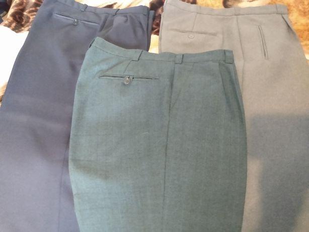 Spodnie garniturowe męskie