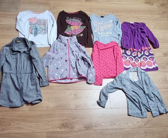 Mega zestaw mega paka sukienka,Polar,bluzki cool Club,H&M wysyłka grat