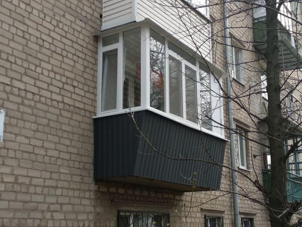 Окна,б/у окна,двери,лоджии,балкон под ключ