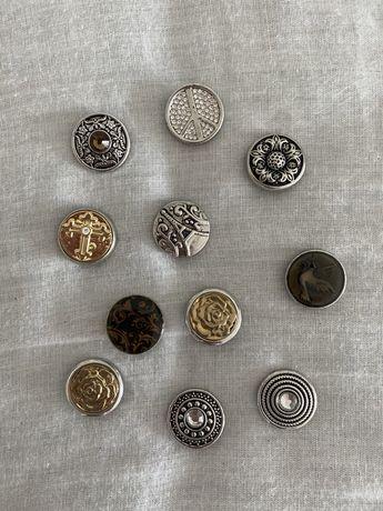 Botões com vários padrões