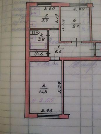 Продаю 2 кімнатну квартиру провулок Дівочий