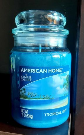 Świeca Yankee Candle - Tropical Sky, 538g (duża)