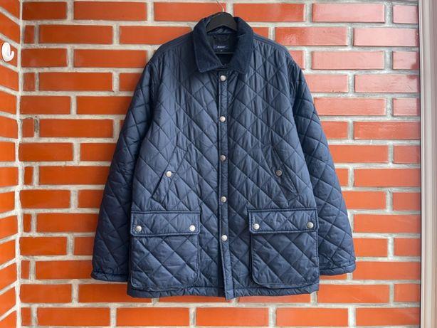 Gant оригинал мужская стеганая куртка пальто размер XL гант Б У