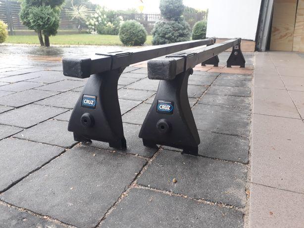 Bagażnik dachowy na rynienkę CRUZ , Opel Vectra, Chevrolet