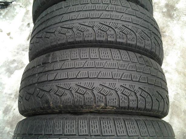 Opony zimowe 205,55,16 Pirelli 200zl komplet Białystok