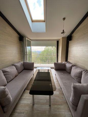 5-ти кімнатний, 2-х рівневий пентхаус з терасою та каміном на дровах