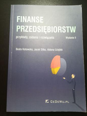 Finanse przedsiębiorstw - przykłady, zadania i rozwiązania