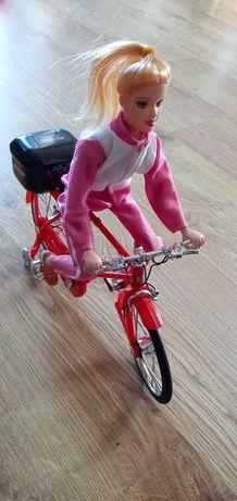 Lalka na rowerze z napędem