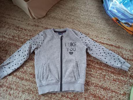 Bluza dla dziewczynki rozmiar 98/104 lupilu