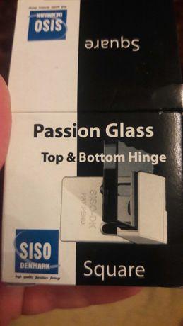 Петля для стекла SISO прямоугольная