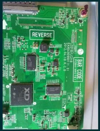 MAIN плата со встроенным тюнером DVB-Т2