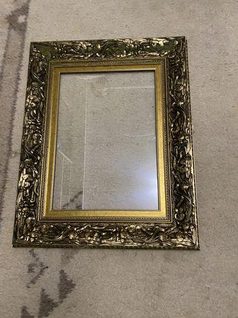 Старовинна рамка для картини зі склом