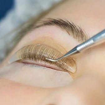 Ламінування вій, корекція і покраска брів, make up, корекція нігтів