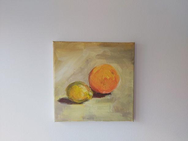 Obraz, akryl na płótnie. 20x20 cm. Absolwentka ASP, Wydział Malarstwa
