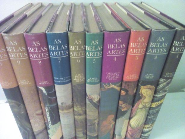 Enciclopédia  As belas artes de Grolier