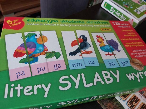 Gry sylaby wyrazy litery