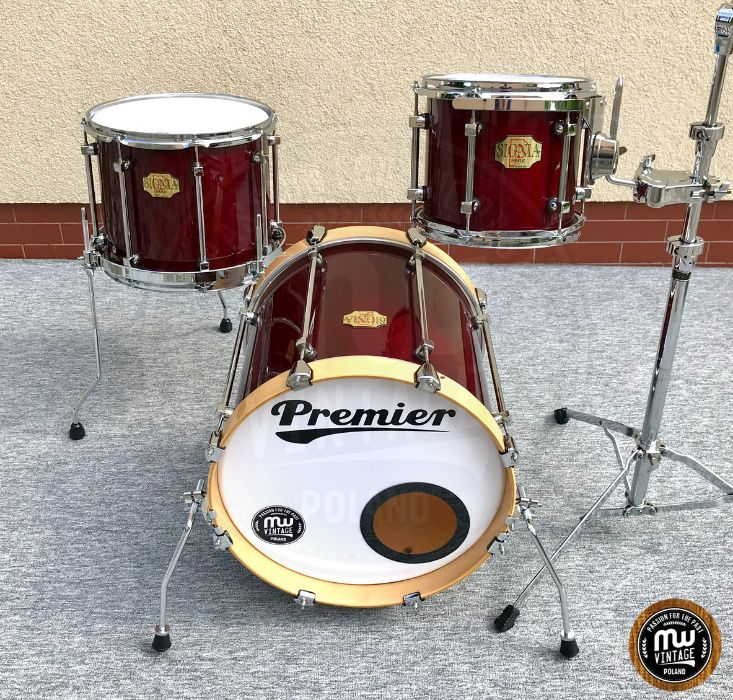 "Perkusja Premier Signia Maple Bop 18"", 10"", 14"" Cherry"