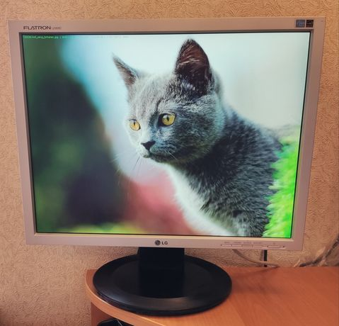 "Монитор LG Flatron L2000C 20"" 4*3, 1600 x 1200, IPS, VGA , DVI (3800p)"