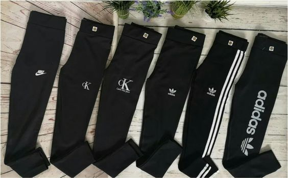 Getry damskie z logo CK Adidas Nike czarne S-Xl!!!