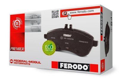 Opel Movano / Renault Master Ferodo klocki tył