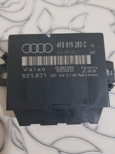 Блок управления парктроником Audi A6 C6 3.0