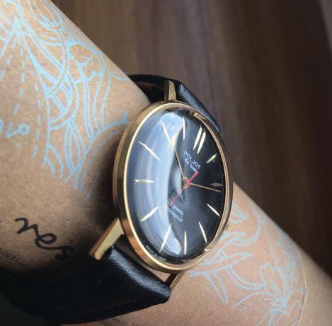 Elegancki mechaniczny zegarek Poljot De Luxe. Vintage/Retro