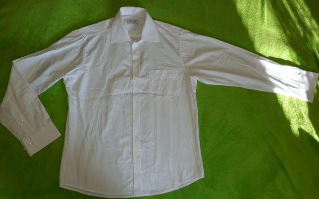 Koszula biała dla chłopca 152 158 elegancka