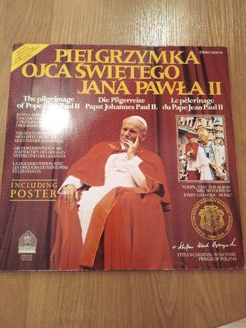 Płyty winylowe Pielgrzymki Ojca świętego J.Pawła II do Polski 1979r