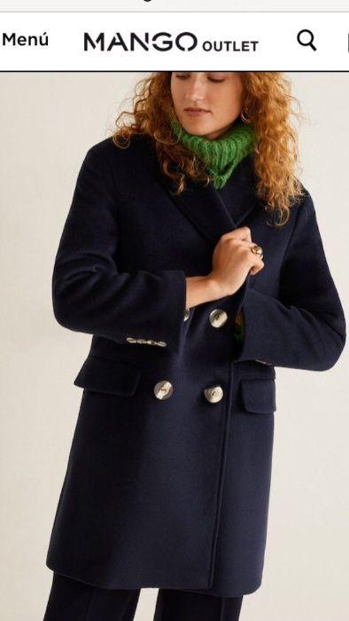 Оригинал пальто женское mango новое манго куртка по типу zara зара Николаев - изображение 1