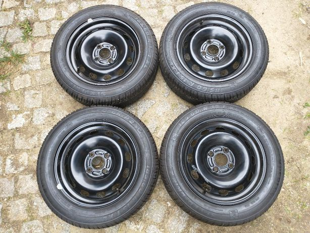 """15"""" Koła Zima 8mm 4x108 Fiesta 7 Fusion 2 B-max 4szt 4x107,95 ET37,5"""