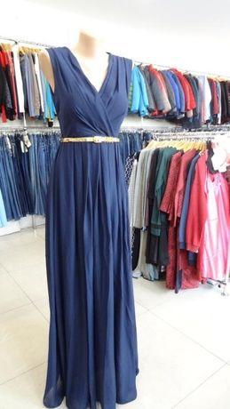 Вечернее, выпускное шифоновое платье в пол Размер 46