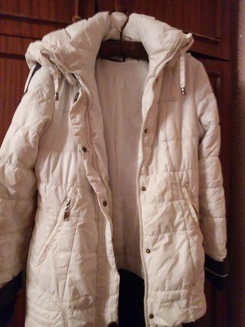 Куртка на двойном синтепоне р.42-44 очень теплая