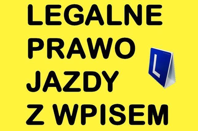 Prawo jazdy kat B C Ukraina
