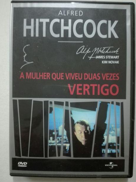 Filme DVD A Mulher que viveu duas vezes VERTIGO