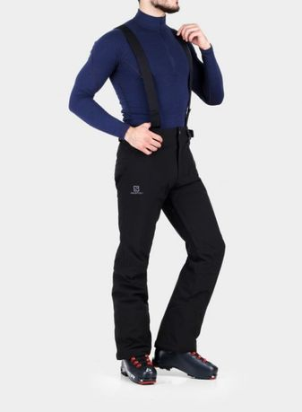 Spodnie narciarskie Salomon Stormseason Pant - black Nowe