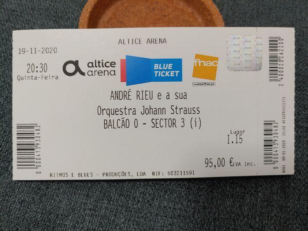 Bilhetes ANDRE RIEU e sua Orquestra