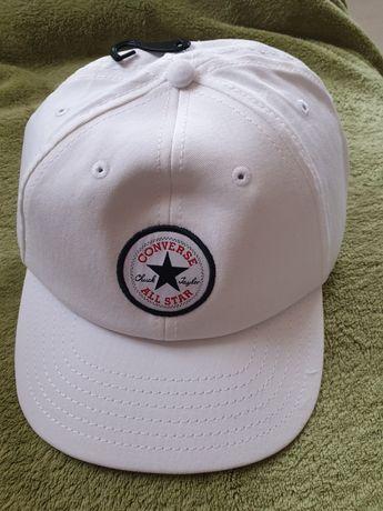 Nowa czapka z daszkiem Converse biała