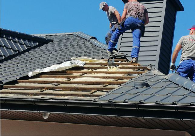 Zwalczanie kuny domowej , Kuny na dachu poddaszu Naprawa izolacji