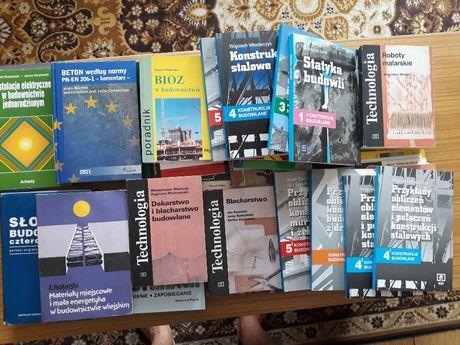 Książki budowlane - pakiet 30 szt.
