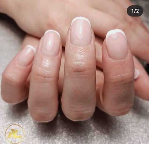 Paznokcie żelowe, hybrydowe, Manicure
