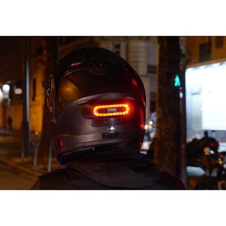 Tylne światło Cosmo Moto z GPS alarm wypadkowy