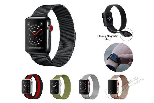 Ремешок Apple Watch Milanese Loop magnetic металический браслет iwatch