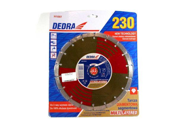 Tarcza segmentowa multi-layer 230mm/22.2 DEDRA