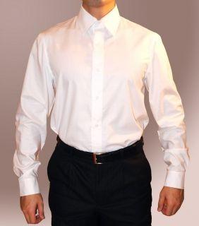 Продам классическую мужскую белую рубашку