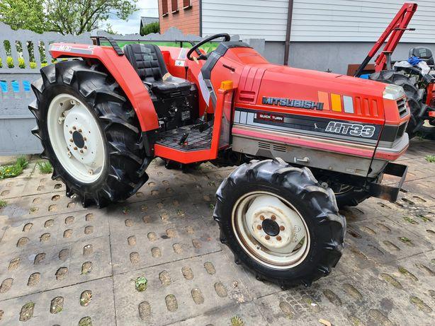 Mini traktor Mitsubishi , 33KM,ogrodniczy,sadowniczy,Japoński traktore