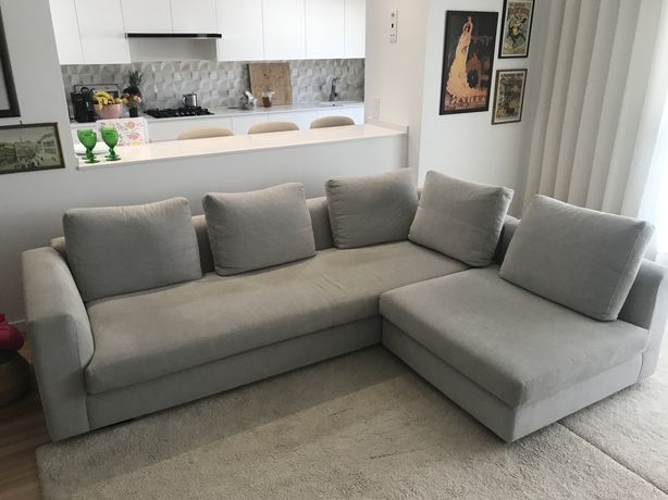 Sofá 4 lugares + chaise longue