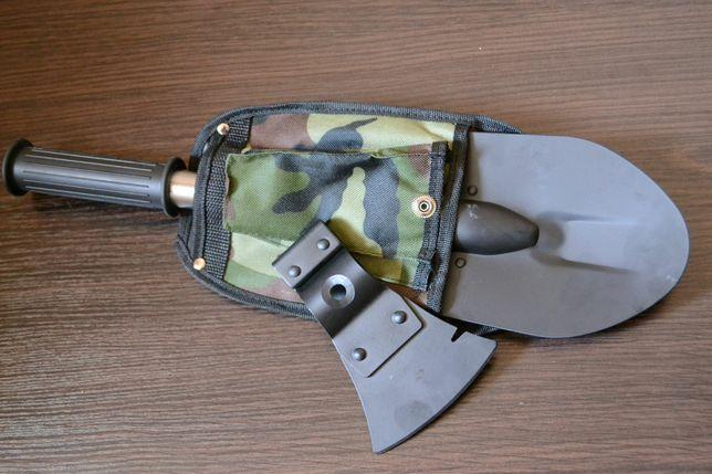 Универсальная туристическая саперная лопата 5в1