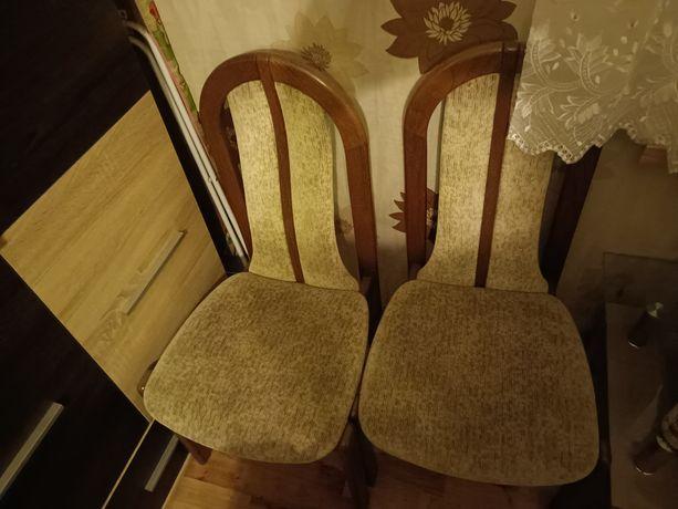 Krzesła ciężkie masywne