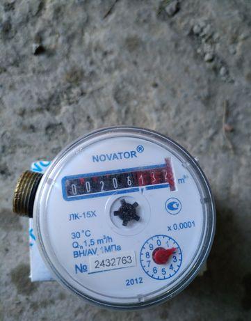 Счетчик бу холодной воды  Novator